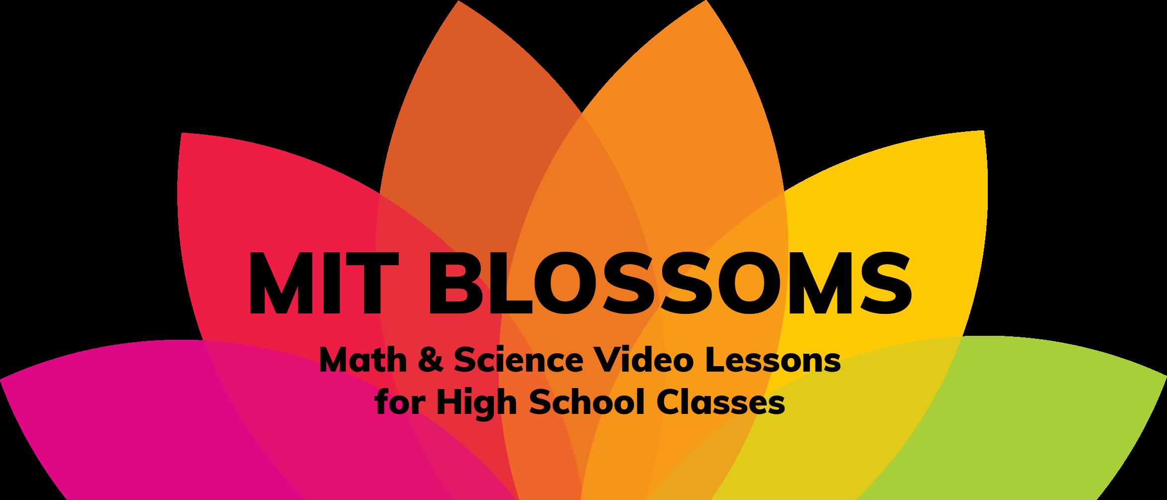 MIT BLOSSOMS
